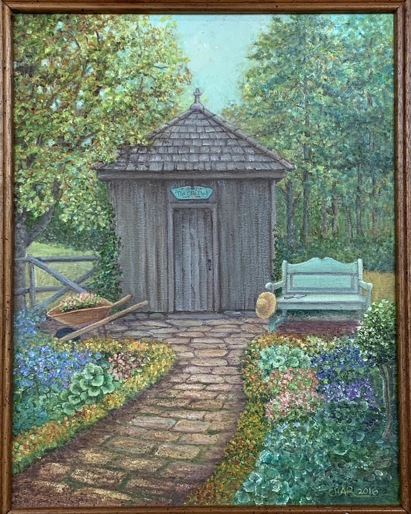 Charlotte Thompson - Garden shed