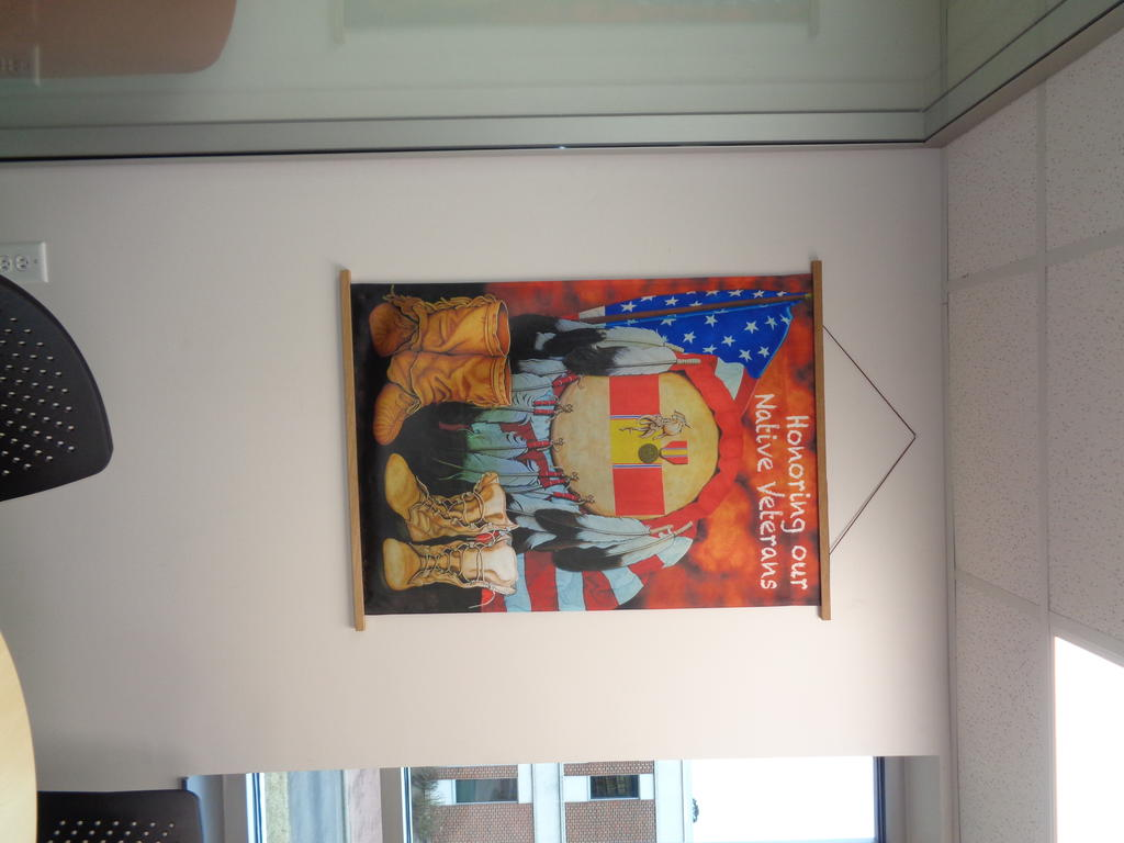 Honoring Our Native Veterans Tapestry