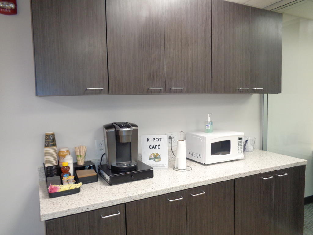 K-Pot Cafe Coffee Station in Rally Point Veterans Resource Center