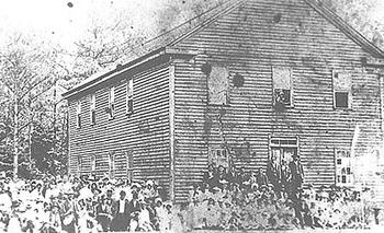 Croatan Normal School, 1887