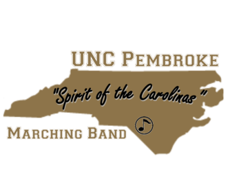 UNCP Marching Band logo