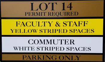 Lot Sign