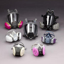Different types of respiratory protection equipment