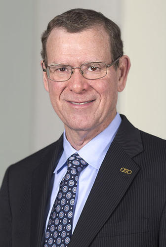 John Allison, executive in residence at the Wake Forest School of Busines