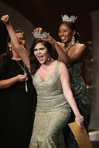 Taley Strickland crowned Miss UNCP 2018