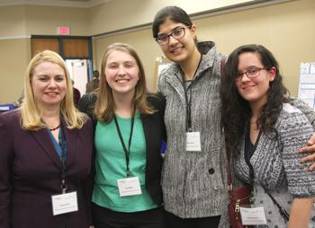Dr. Rachel Smith, Cora Bright, Ereny Gerges, and Cheyenne Lee.  View more photos in the gallery below.