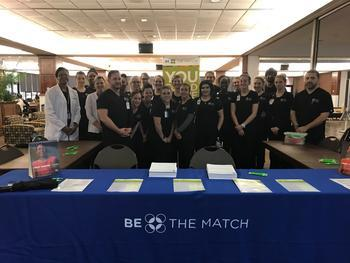 Nursing Students Add Names to the Be The Match Registry