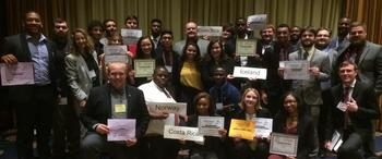 UNCP's Model United Nations team