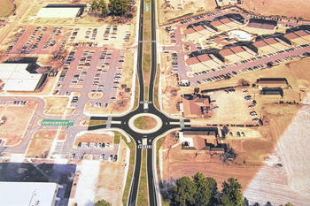 Digital Rendering Of A $5 Million DOT Project To Reconstruct A Mile Of  North Odom Street/Prospect Road. It Is Expected To Be Completed By Fall 2019