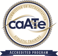 The UNC Pembroke Athletic Training Program is accredited by the Commission on Accreditation of Athletic Training Education (CAATE).