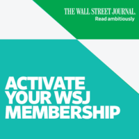 Activate your WSJ Membership