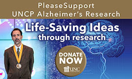 Please Support UNCP Alzheimer's Research